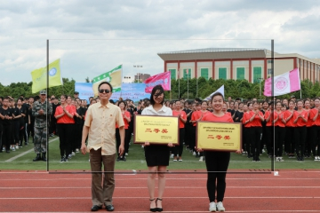 祝贺经济学院在云南师范大学文理学院第二届健身气功比赛中荣获二等奖